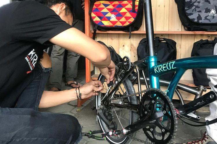 Sepeda Kruez buatan tangan asal Bandung