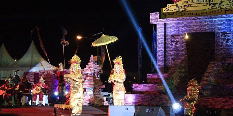 Festival Sriwijaya dibuka, Selasa (22/8/2017) malam di Palembang, Sumatera Selatan, tepatnya di pelataran Benteng Kuto Besak.