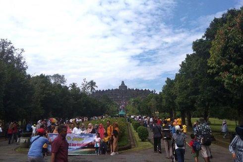 Tahun Baru 2020, Candi Borobudur Tanpa Lampion