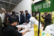 Gelar Tes Masif, 15 Penumpang KRL Stasiun Bogor dan Bojong Gede Reaktif Rapid Test
