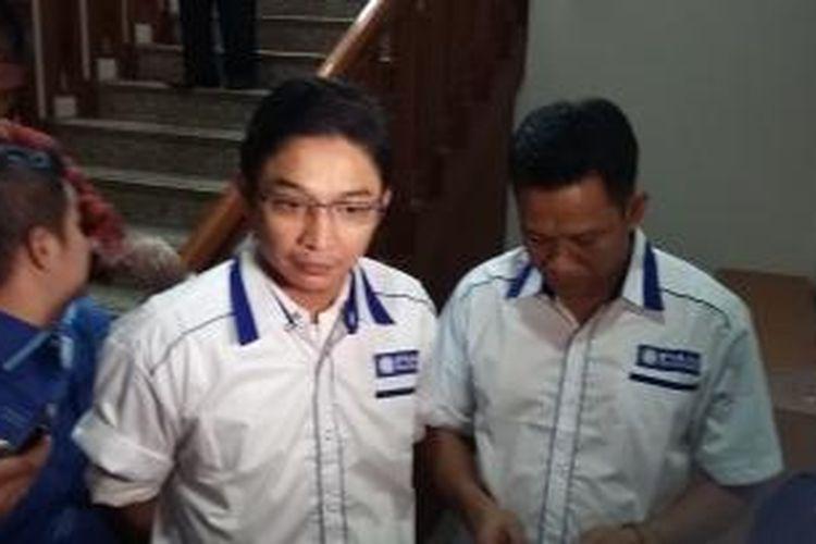 Sigit Purnomo Syamsuddin Said atau lebih dikenal Pasha Ungu, mengumumkan dirinya sebagai calon Wali Kota Palu, dari Partai Amanat Nasional (PAN), di Kantor DPP PAN, Jakarta Selatan, Kamis (23/7/2015).