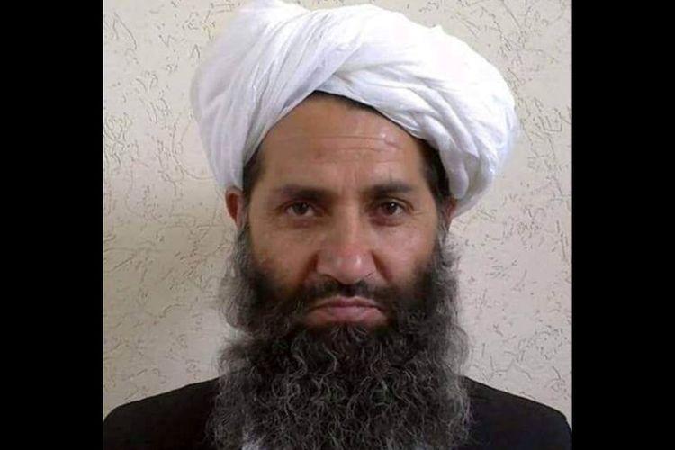 Pemimpin Taliban di Afghanistan, Mullah Haibatullah Akhundzada. (Reuters)