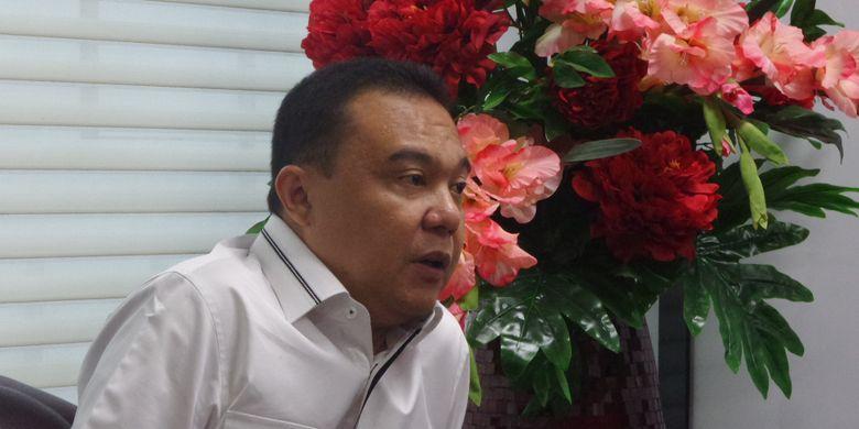 Ketua Mahkamah Kehormatan Dewan (MKD) DPR, Sufmi Dasco Ahmad di Kompleks Parlemen, Senayan, Jakarta, Kamis (10/8/2017).