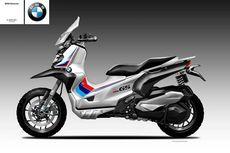 Begini Jadinya jika BMW Bikin Skutik Petualang C 400 GS