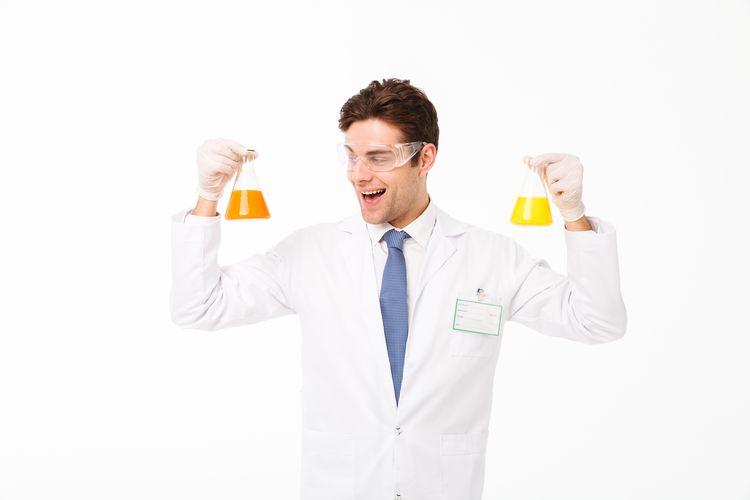 Ilustrasi gejala reaksi kimia