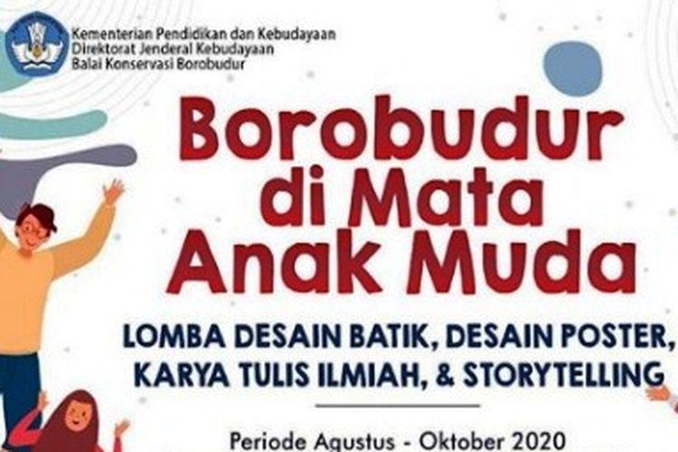 Info lomba-lomba Borobudur di Mata Anak Muda dari Kemendikbud.