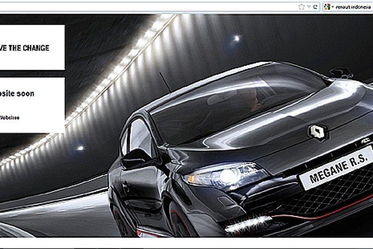 Situs resmi Renault Indonesia