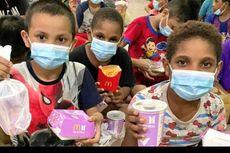 Senyum Anak Panti Asuhan di Cilincing Dapat Donasi BTS Meal dari Army
