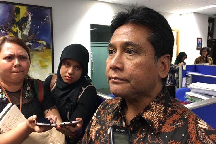 Ketua Umum Asosiasi Pengusaha Indonesia (Apindo) Hariyadi Sukamdani