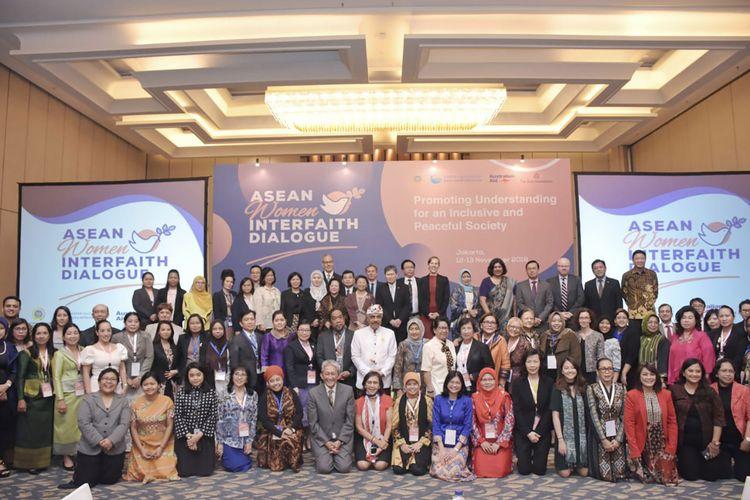 Acara ASEAN Women Interfaith Dialogue.