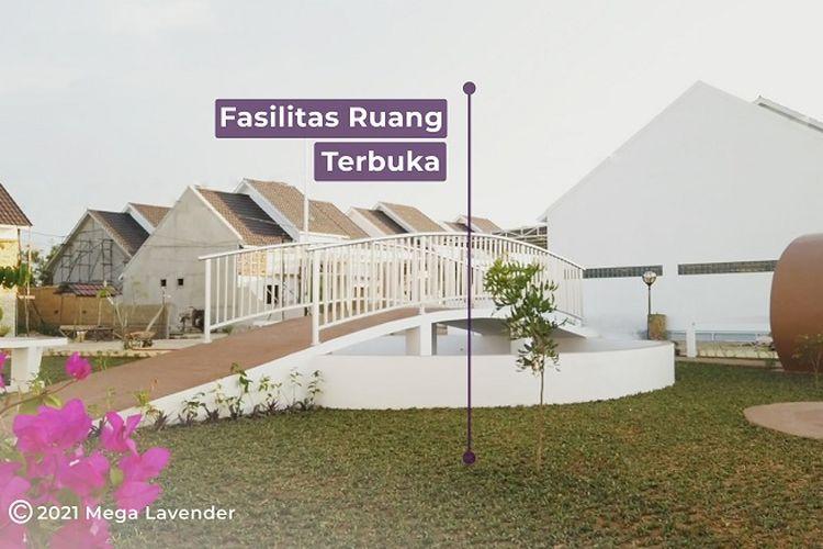 Fasilitas taman di perumahan Mega Lavender