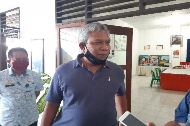 Dirkantib Ditjen Pemasyarakatan Kemenkumham Tejo Harwanto saat diwawancara di kantor Lapas Kelas II A, Tuminting, Manado, Sulut, Minggu (12/4/2020) pukul 11.48 WITA