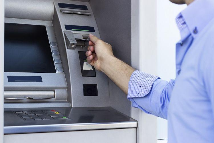 Mesin ATM.