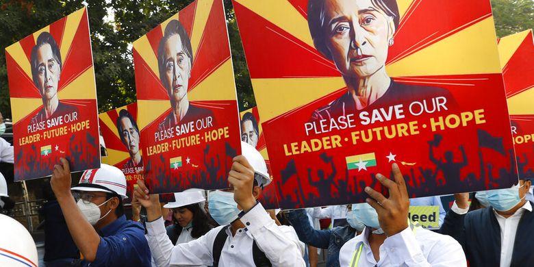 18 Orang Tewas dalam Sehari di Myanmar, Begini Res