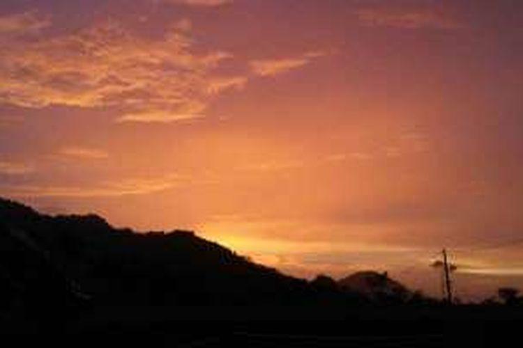 40 Contoh Lukisan Pemandangan Pada Waktu Senja Terbaik