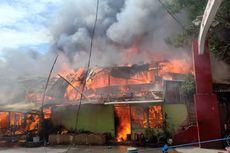 Kebakaran di Samping Polsek Makassar, Petugas Damkar Kena Pukul