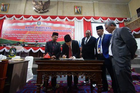 Adik Kandung Mantan Gubernur Kepri Dilantik Jadi Wakil Gubernur