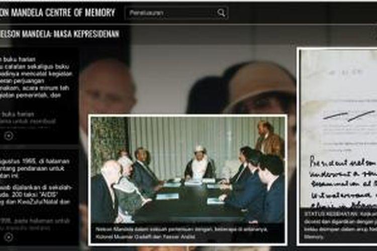Sepotong kisah hidup Mandela yang diabadikan di Nelson Mandela Centre of Memory