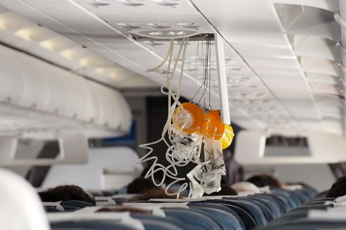 Masker Oksigen Mendadak Keluar, Penumpang British Airways Panik