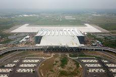 Uji Coba, Kemenhub Lakukan Pendaratan Pertama di Bandara Kertajati