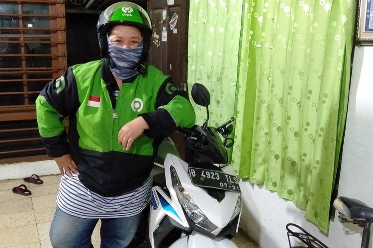 Deasy Monika Hutasoit saat ditemui di kediamannya di kawasan Ceger, Jakarta Timur, Kamis (5/8/2020)