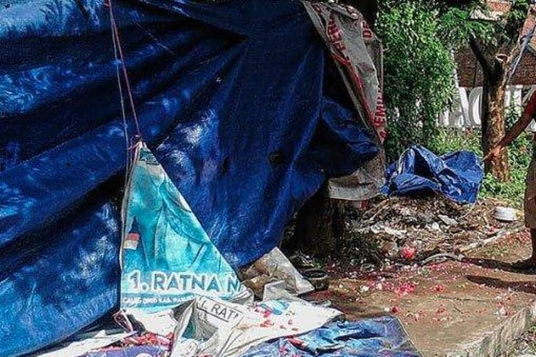 Kecelakaan di Jalan Raya Malang - Surabaya, Selasa (10/3/2020) dini hari. 6 pegawai perusahaan AMDK yang sedang demo jadi korban meninggal.