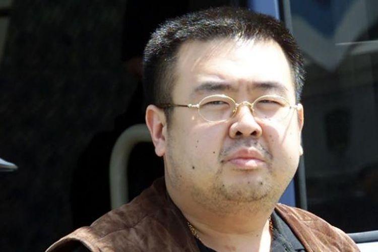 Foto ini diambil pada 2001, ketika Kim Jon Nam tiba di bandara Narita, Jepang.