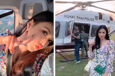 Istri Polisi Thailand Pamer di TikTok Naik Helikopter Kepolisian, Pangkat Suami Langsung Diturunkan