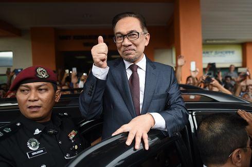 Anwar Ibrahim Resmi Bebas dari Penjara