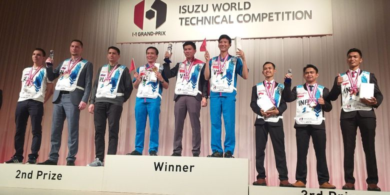Isuzu Indonesia di laga Isuzu World Technical Competition