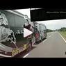 Aksi Bus Kebut-kebutan di Sosial Media, Bisa Ditindak Polisi