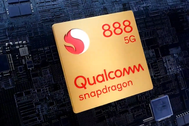 Chipset Qualcomm Snapdragon 888.