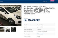 Cuci Gudang, Bea Cukai Lelang 75 Mobil secara Online