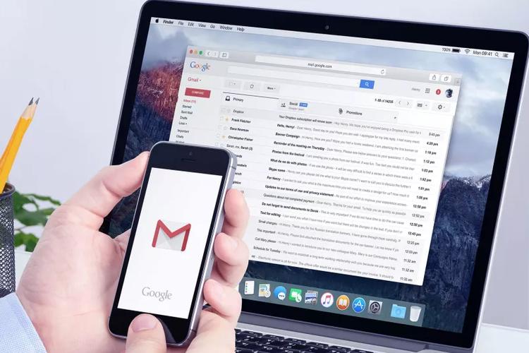 Ilustrasi Gmail.