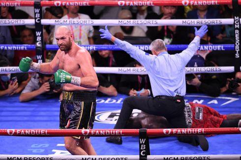 Pukul KO Deontay Wilder, Tyson Fury Ubah Ring Tinju Jadi Arena Karaoke