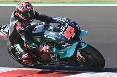 Hasil FP1 MotoGP Misano 2020, Quartararo Tercepat, Alex Rins Kecelakaan