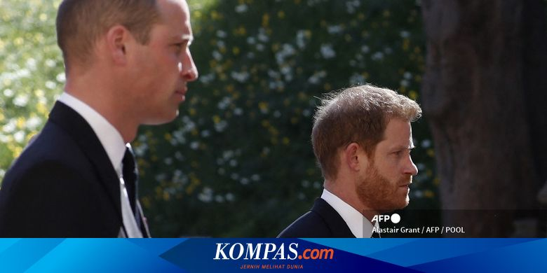 Pangeran William dan Pangeran Harry Kembali Terlih