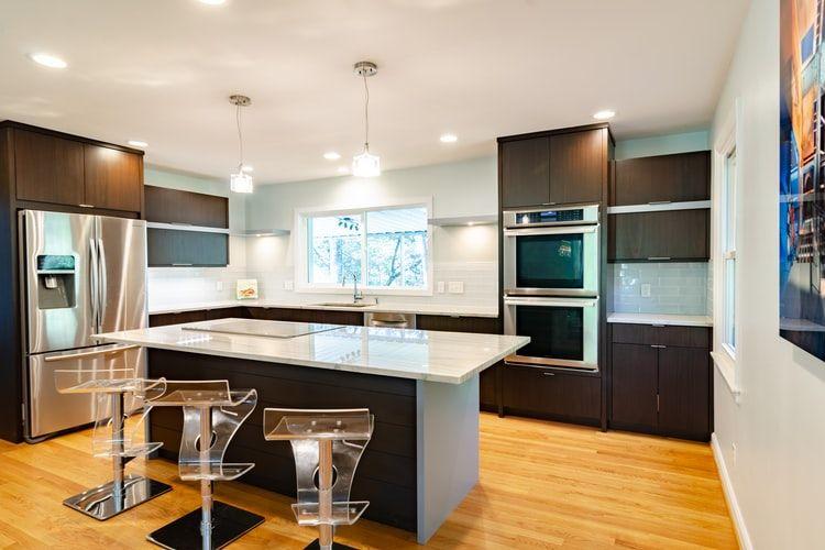 Ilustrasi lantai dapur