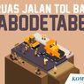 INFOGRAFIK: 6 Ruas Tol Baru di Jabodetabek