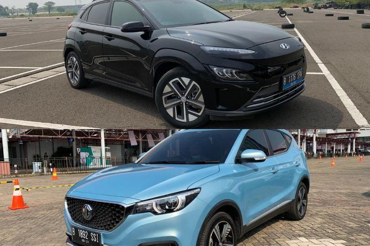 Perbandingan desain MG ZS EV dan Hyundai Kona EV