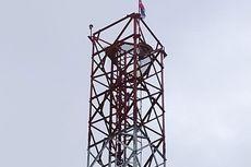 Warga Asmat Digegerkan Bendera Bintang Kejora Berkibar di Atas Tower