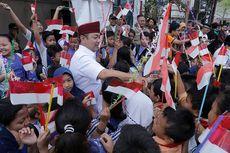 Meriahnya Kirab Kebangsaan Merah Putih di Kota Semarang
