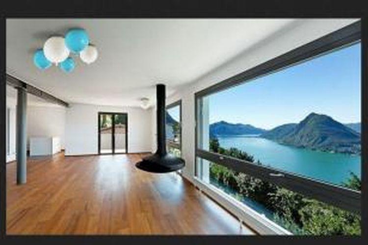 Tak hanya berbentuk balon, penggunanya pun bisa memajang lampu ini menempel di plafon atau dinding. Persis seperti sebuah balon!