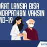 INFOGRAFIK: Syarat Lansia Bisa Mendapatkan Vaksin Covid-19