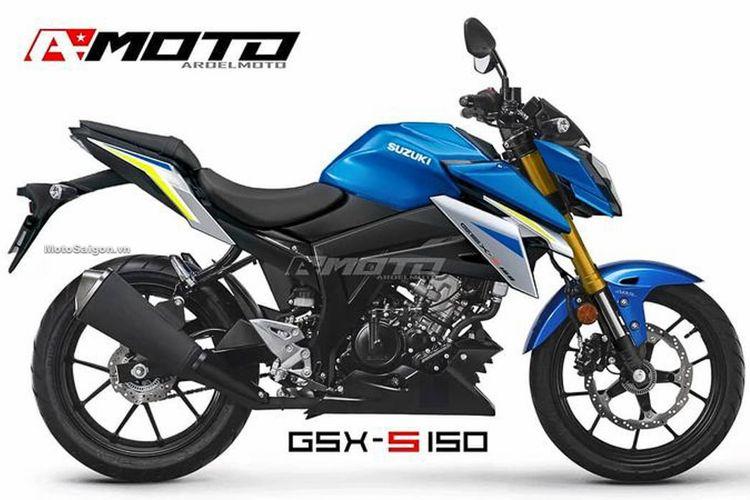 Rendering Suzuki GSX-S150