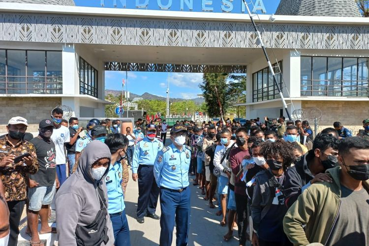Warga Timor Leste dideportasi melalui PLBN Motaain Kabupaten Belu, NTT