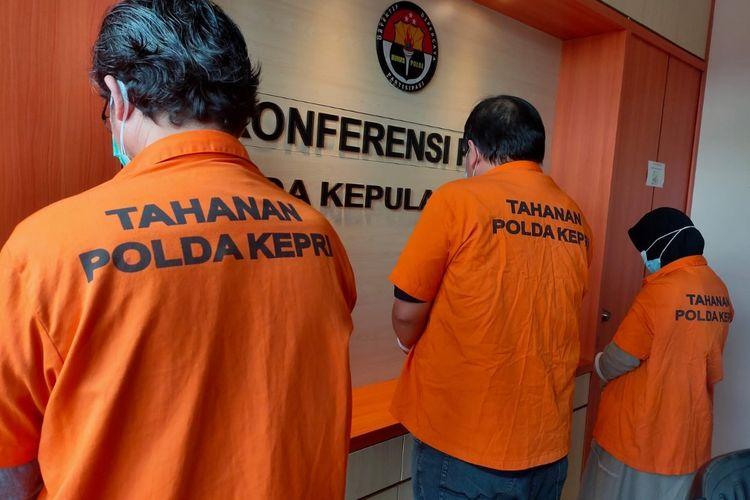 Lakukan Kredit Fiktif, Tiga Pengusaha di Kepri Ditangkap Polisi dengan Total Kerugian Rp7,9 Miliar