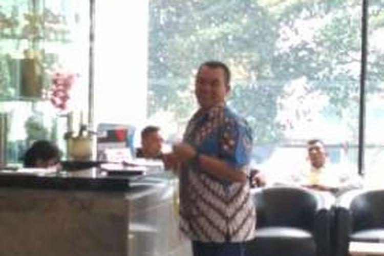 Komandan Pusat Polisi Militer (Puspom) TNI Mayjen TNI Dodik Wijanarko di gedung KPK, Jakarta, Selasa (20/12/2016)