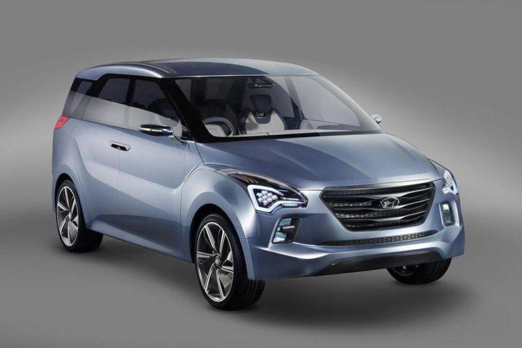 Ilustrasi Hyundai Hexa Space MPV Concept, yang digadang-gadang menjadi model konsep dari Hyundai Stargazer