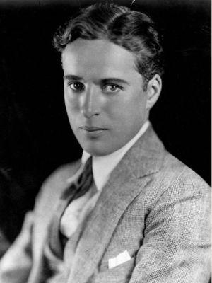 Charlie Chaplin. (National Potrait Gallery)